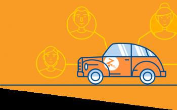 Inchirierea unei masini  versus Car-sharing