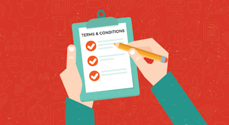 New changes to the Terms and Conditions of the rental process